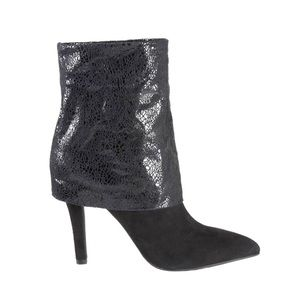BCBGeneration Black Earla Ankle Boots/Booties